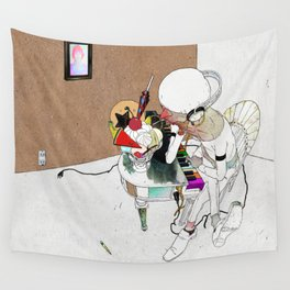 LOVE SONG OR SAD THING Wall Tapestry