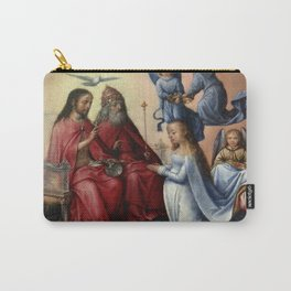 Michel sittow - Coronation of the Virgin Carry-All Pouch