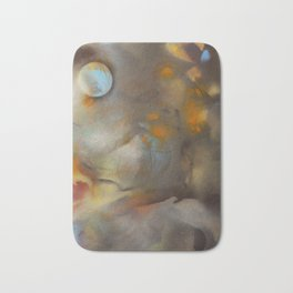 Blue October Moon Bath Mat