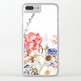 Morning field. Fresh and beauitful Clear iPhone Case