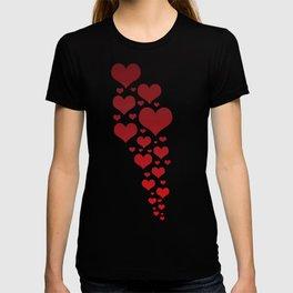 Glowing Garnet Gradient T-shirt