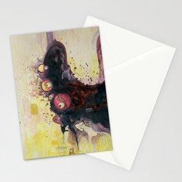 methy megadrive badgirl Stationery Cards