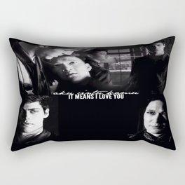 Magnus and Alec Rectangular Pillow