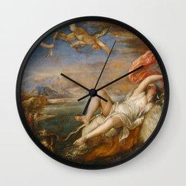 Titian - The Rape of Europa Wall Clock