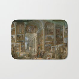 Ancient Rome by Giovanni Paolo Panini Bath Mat