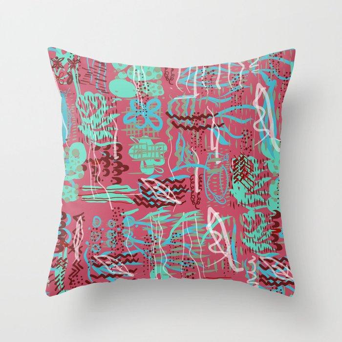 Beachey1 Throw Pillow