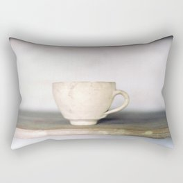 cup of kindness Rectangular Pillow