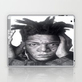Jean-Michel Basquiat Drawing Laptop & iPad Skin