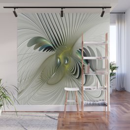 Fractal Have A Look, Modern Abstract Fantasy Wall Mural