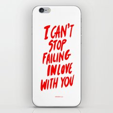 Failing iPhone Skin