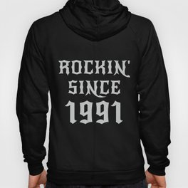 29 Year Old Classic Rock 1991 29th Birthday Gifts Men Women Hoody