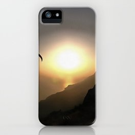 Paragliders Flying Without Wings iPhone Case