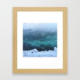 Brokenness Aside Framed Art Print