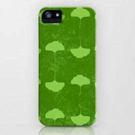Gingko Pattern iPhone Case
