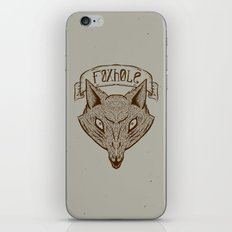 Foxhole iPhone & iPod Skin