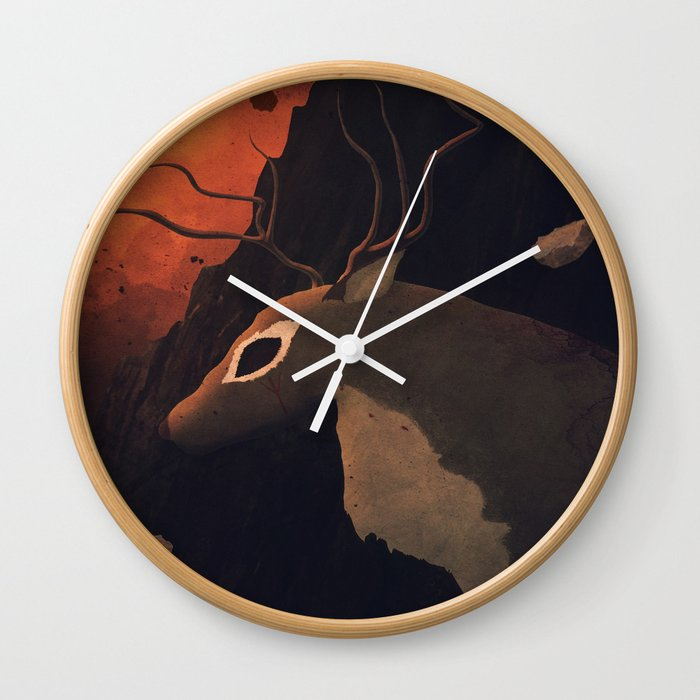 """In Spirits We Trust"" Wall Clock"
