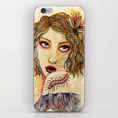 Cecilia and the Centipede iPhone & iPod Skin