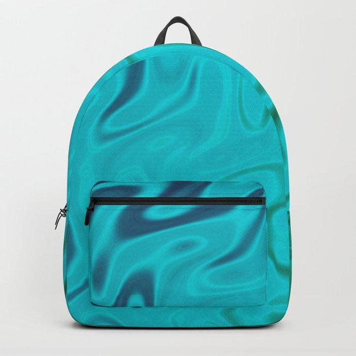 Ripples Fractal in Tropical Seas Backpack