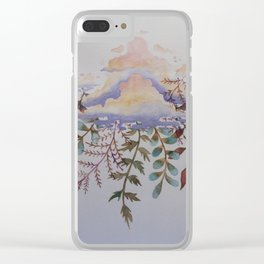 Being Delicate 1 Clear iPhone Case