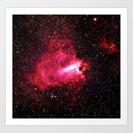 The Omega Nebula Art Print