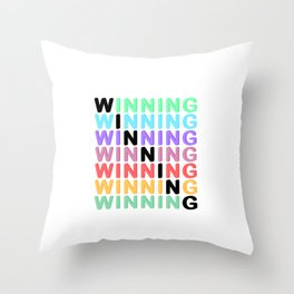 WINNING - Color Expression Throw Pillow