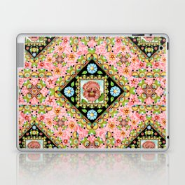 Cottage Pink Pansy Laptop & iPad Skin