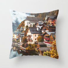Hallstatt. Throw Pillow