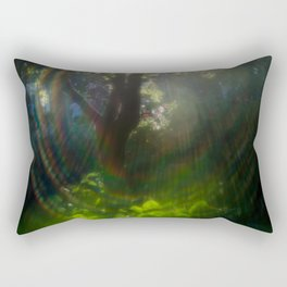 Rainbow Flare (Magic Garden Series) Rectangular Pillow