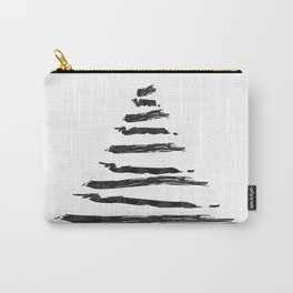 Modern Christmas Tree Carry-All Pouch