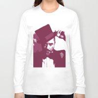 robert downey jr Long Sleeve T-shirts featuring Mr. Robert Downey Jr. by Arianrhod