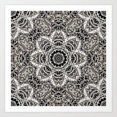 Mehndi Ethnic Style G451 Art Print