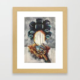 Undressed IX Framed Art Print