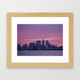 Canary Wharf London Framed Art Print