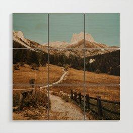 Mont Thabor/// Gran Séru Wood Wall Art