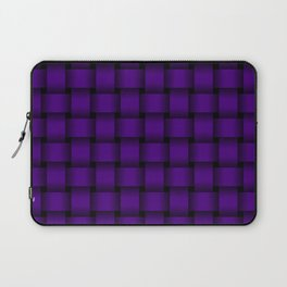 Indigo Violet Weave Laptop Sleeve