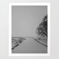 | Never-ending No. 36 - or never-ending winter | Art Print