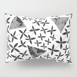 Shapes in Nature : Black Pillow Sham