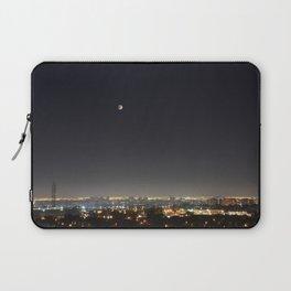 City Blood Moon. Laptop Sleeve