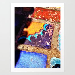 Balboa Park tile Art Print