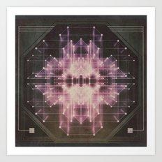 Explosive field Art Print