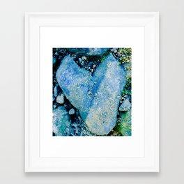 Love Rocks Framed Art Print