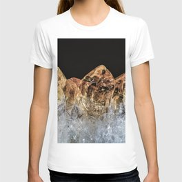 Fire and Ice Citrine crystals T-shirt