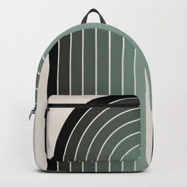 Gradient Arch - Green Tones Backpack