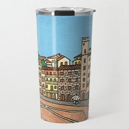 arezzo piazza grande Travel Mug