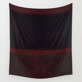 1960 Black on Dark Sienna On Purple by Mark Rothko HD Wall Tapestry