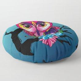 owl bird Floor Pillow