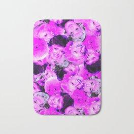 Golden Girls Toss in Electric Pop Pink Bath Mat