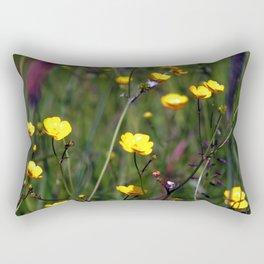 Buttercup Meadow Rectangular Pillow