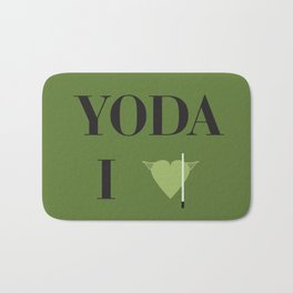 I heart Yoda Bath Mat