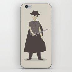 El Zorro iPhone & iPod Skin